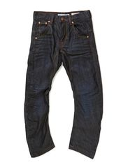 Jeans Adam - Dark blue wased denim