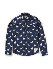 Shirt Elton - Dark blue navy