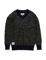 Knitwear Errol - Mouse Grey melange
