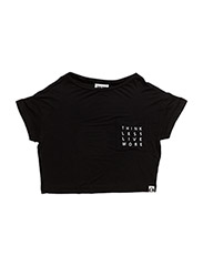 Noreen T-shirt - BLACK