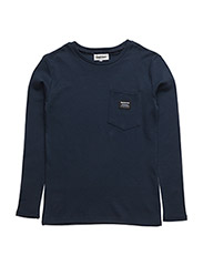 Allan Long sleeve t-shirt - 697-BLUE