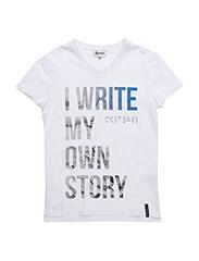 Roger T-shirt - 100-WHITE