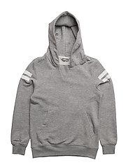 Tony Sweat shirt with hood - 900/GREY