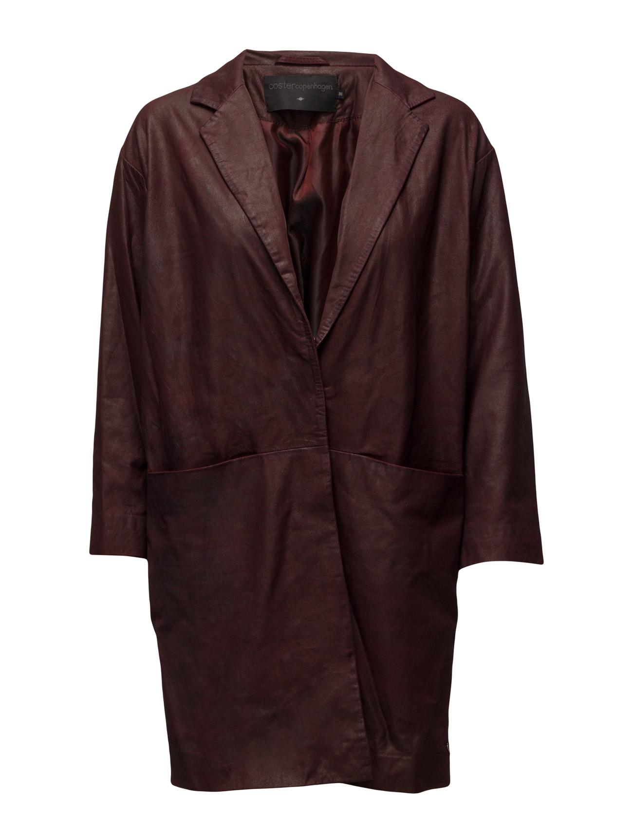Suede Jacket Coster Copenhagen Frakker til Damer i Bordeaux
