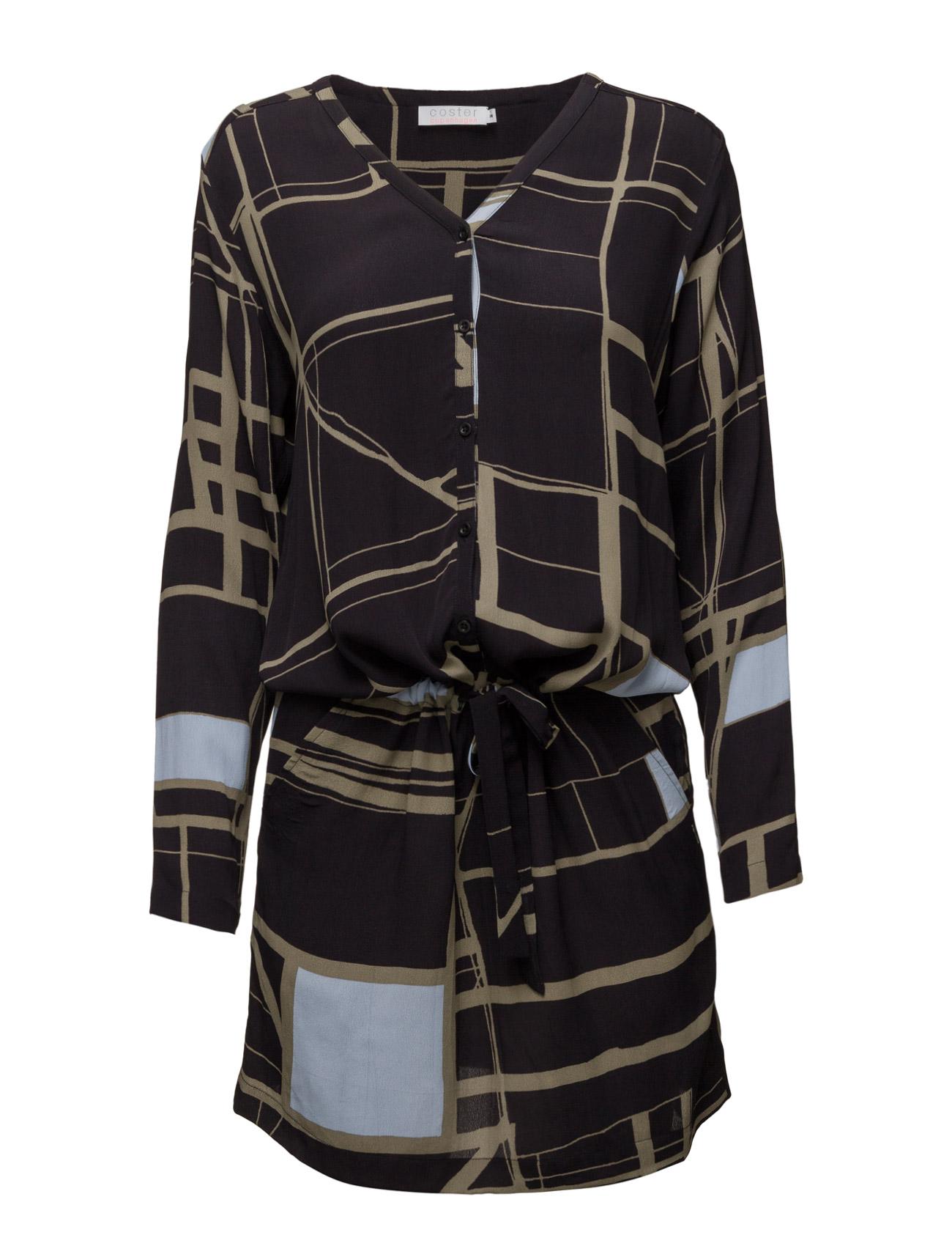 Dress W. Square Print Coster Copenhagen Korte kjoler til Damer i