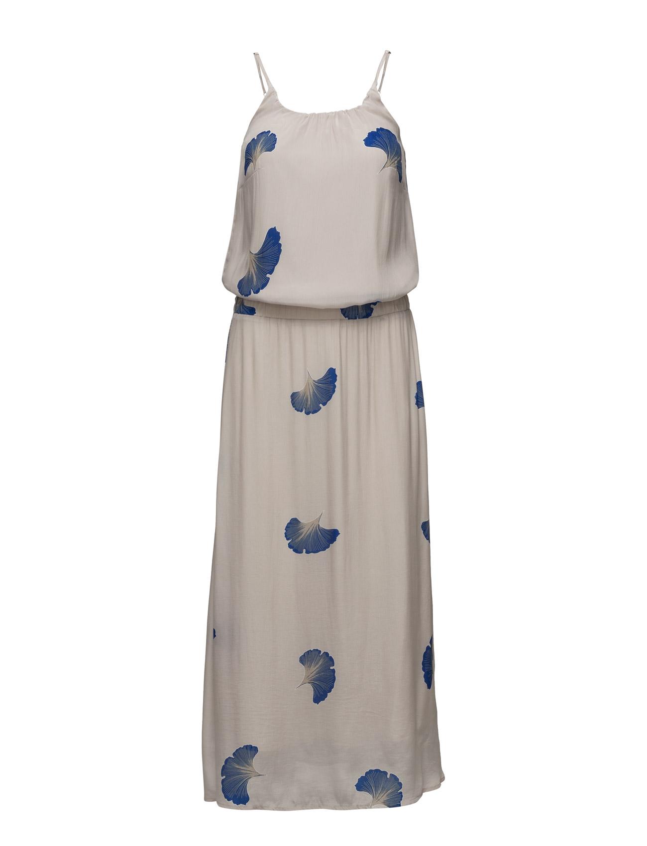 Long Dress W. Fan Flower Print Coster Copenhagen Kjoler til Kvinder i