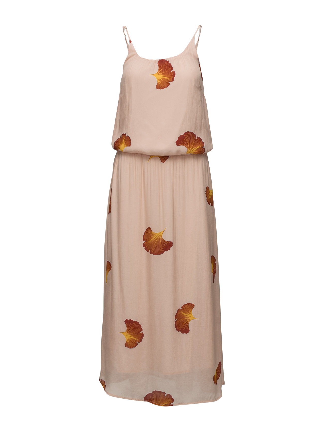 Long Dress W. Fan Flower Print Coster Copenhagen Maxi Kjoler til Damer i