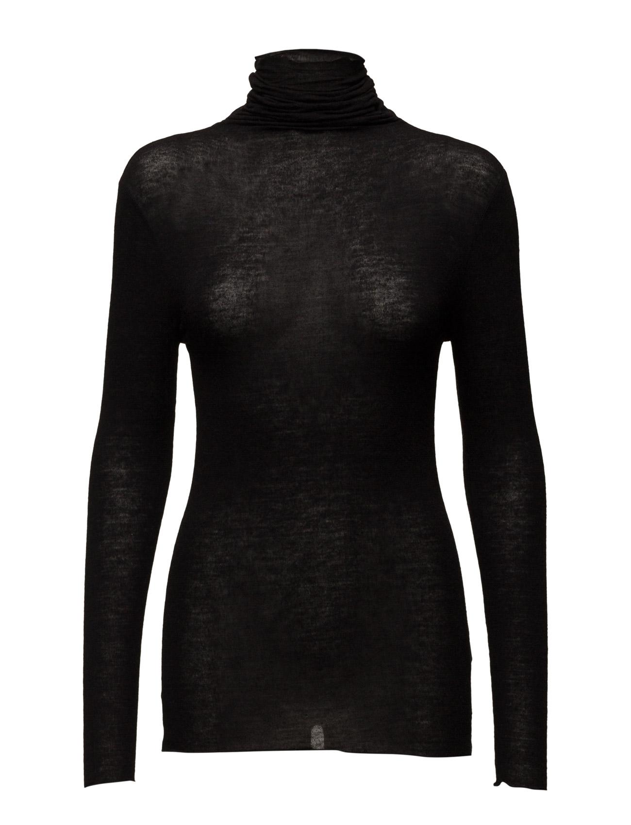 Roller Neck T-Shirt W. Wool (Basic) Coster Copenhagen Højhalsede til Damer i