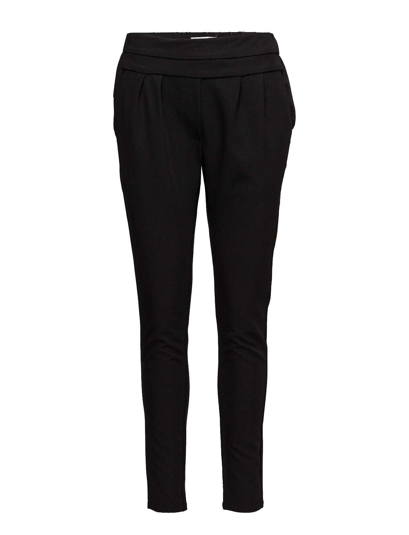Pants W. Jersey Back Coster Copenhagen Casual bukser til Damer i Sort