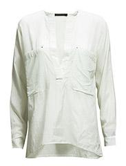 Shirt w. mix fabric - KIT