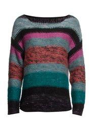 Multi color knit top - multi color