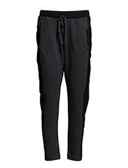 Leather sweat pants - SALT / PEPPER