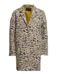 Leopard wool jacket - Leopard print