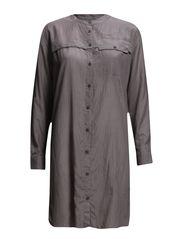 Long shirt - Concrete