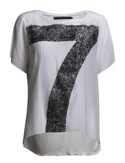 Top with no 7 - White