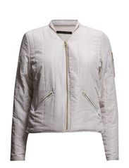 Quilted jacket - Cream