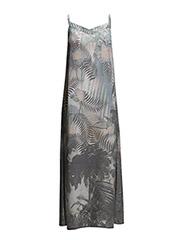 Dress with palm print - Palm Print