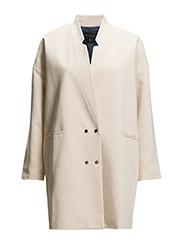 Double breasted blazer - POWDER