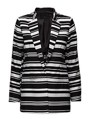 Suit jacket w. stripe - STRIPE