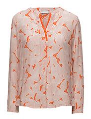 Leaf print shirt - LEAF PRINT