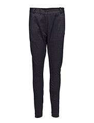 Suit pants in jersey - DARK BLUE/DIJON GRAPHIC