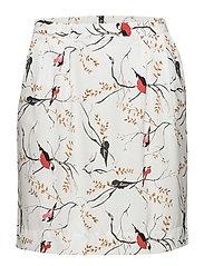 Bird print skirt - BIRD PRINT