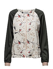 Jacket w. bird print - BIRD PRINT