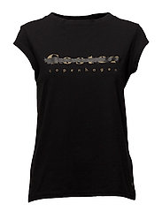 T-shirt w. Coster logo - BLACK
