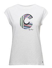 T-shirt w. C - WHITE