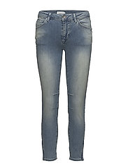 Slim fit jeans same as 3124 - WASHED BLUE