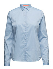 Shirt (Basic) - Oxford blue