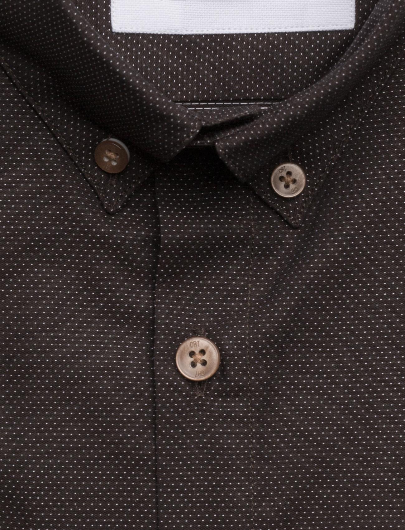 Cr7 Shirt Slim Fit CR7 Casual sko til Mænd i Brun