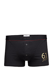 CR7 Luxury Trunk with buttons - Black Gold