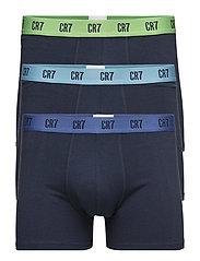 CR7 Basic, Trunk, 3-pack - BLUE