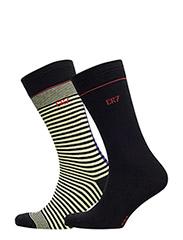 CR7 Fashion socks 2-pack - BLACK YELL