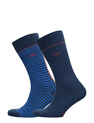 CR7 Fashion socks 2-pack - NAVY/BLUE