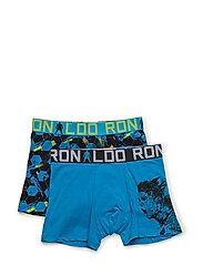 CR7 Boys Trunk 2-pack - BLUE
