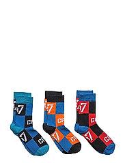 CR7 Kids socks 3-pack - CHECKS CR7