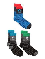 CR7 Kids socks 3-pack - FACE
