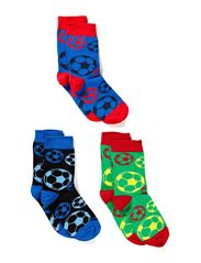 CR7 Kids socks 3-pack - grey/black
