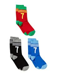 CR7 Kids socks 3-pack - grey/white