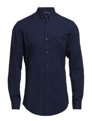 CR7 shirt Slim fit - Dark blue