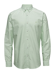 CR7 shirt Classic fit Oxford - GREEN