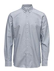 CR7 shirt Classic fit Oxford - GREY
