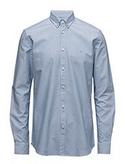CR7 shirt Classic fit Oxford - LIGHTBLUE