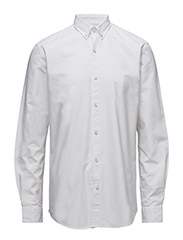 CR7 shirt Classic fit Oxford - WHITE