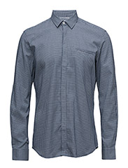 CR7 shirt Slim fit - BLUE STRIB