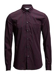 CR7 shirt Slim fit - BORDEAUX