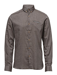 CR7 shirt Slim fit - BROWN