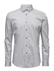 CR7 shirt Slim fit - L. GREY